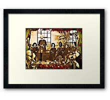 One of You Will Betray Me Framed Print
