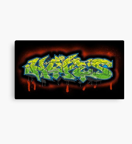 Graff Hype Canvas Print