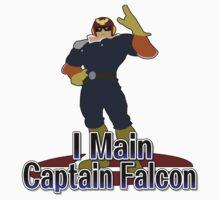 I Main Captain Falcon - Super Smash Bros Melee by PrincessCatanna