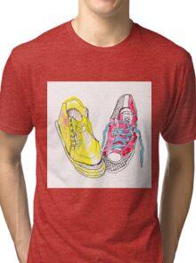 sneakers romance Tri-blend T-Shirt