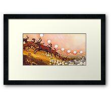 yukon caribou Framed Print