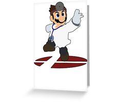Dr.Mario - Super Smash Bros Melee Greeting Card
