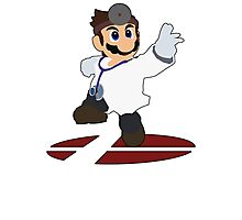 Dr.Mario - Super Smash Bros Melee Photographic Print