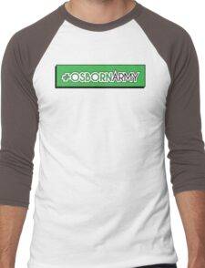 Osborn Army Men's Baseball ¾ T-Shirt