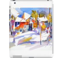 For love of winter #1 - watercolour on paper iPad Case/Skin