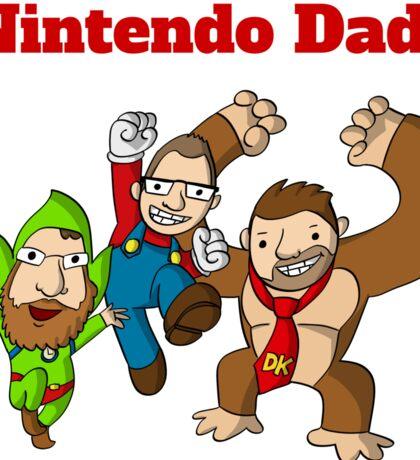 Nintendo Dads Sticker