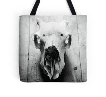 Still Life of an animals skull Tote Bag