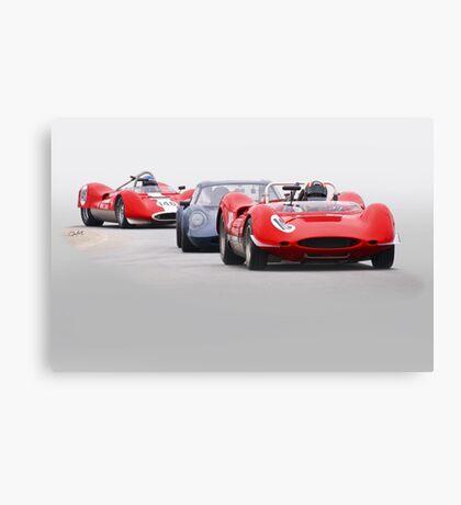 Vintage Racecars 'Tight Turn 11' Canvas Print