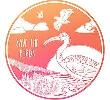 Save the Birds! Photographic Print