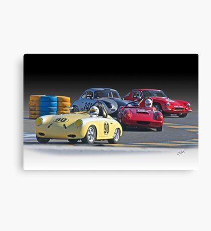 Vintage Racecars 'Lap Leader' Canvas Print