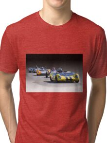 Vintage Racecars 'Home Stretch' Tri-blend T-Shirt