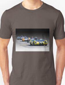 Vintage Racecars 'Home Stretch' Unisex T-Shirt