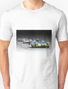 Vintage Racecars 'Home Stretch' Unisex T-Shirt
