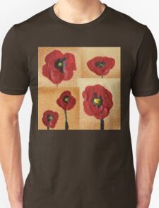 Collage With Red Poppies T-Shirt