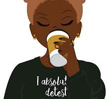 I Absolutely Detest Mondays by tawanasimone