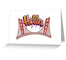 Hella - SF Greeting Card