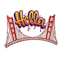 Hella - SF Photographic Print