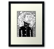 Conquering the world Framed Print
