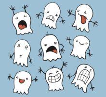 Ghostie Emojis Baby Tee
