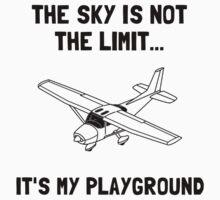 Sky Playground Plane One Piece - Long Sleeve