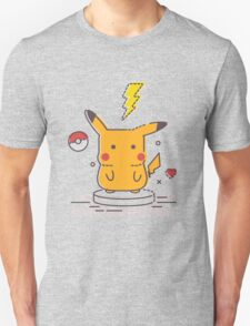 Pikachu Loves Music T-Shirt