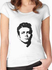 The James Dean Collection Women's Fitted Scoop T-Shirt