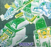 G1 Transformers Headmasters Poster by vladmartin