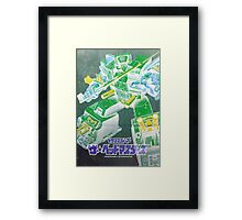 G1 Transformers Headmasters Poster Framed Print