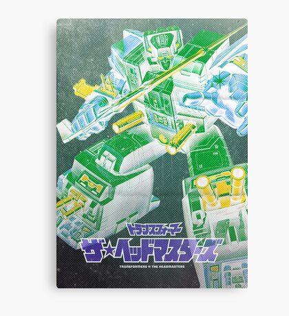 G1 Transformers Headmasters Poster Canvas Print
