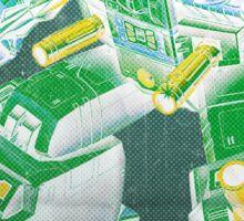 G1 Transformers Headmasters Poster Sticker
