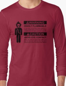 Warning: Highly Flammable - Variant T-Shirt