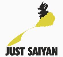 Just Saiyan !!!! Kids Tee