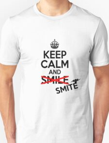 Keep calm and smite T-Shirt