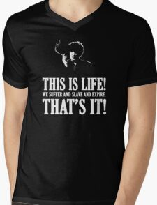 Bernard Black - Black Books T Shirt Mens V-Neck T-Shirt
