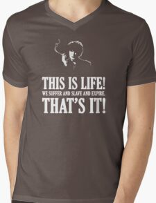 Bernard Black - Black Books T Shirt Mens V-Neck T-Shirt