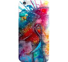 Abstract Watercolor Elephant iPhone Case/Skin