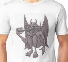 Gargoyle Eating a Hamburger Unisex T-Shirt