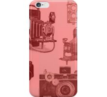 Vintage Camera in Red iPhone Case/Skin