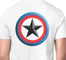 Bulls Eye, Right on Target, Roundel, Archery, Star, Badge, Buttton Unisex T-Shirt