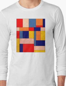 Abstract #340 Long Sleeve T-Shirt