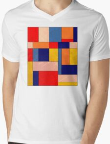 Abstract #340 Mens V-Neck T-Shirt
