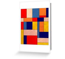 Abstract #340 Greeting Card