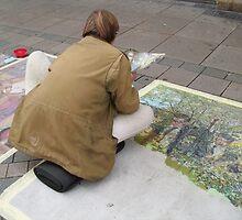 THE STREET-PAINTER by Heidi Mooney-Hill