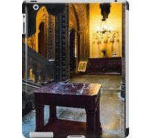 Penrhyn castle -Marble table  iPad Case/Skin