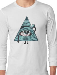 Illuminati Are Baked Long Sleeve T-Shirt