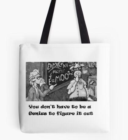 Genius Cow Tote Bag