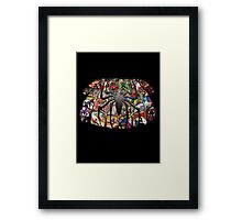 With Great Power... Framed Print