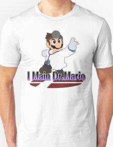 I Main Dr.Mario - Super Smash Bros Melee Unisex T-Shirt