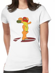 Samus - Super Smash Bros Melee Womens Fitted T-Shirt