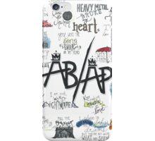 Fall Out Boy Lyric Art iPhone Case/Skin